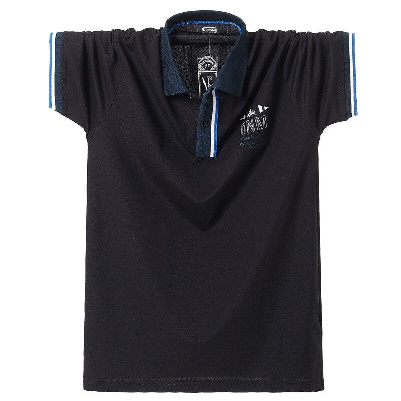 Fett Kerl Plus Größe 4XL 5XL 6XL 95% Baumwolle Einfarbig Casual Kurzarm Polo Shirt Männer Brust 140cm elastische Weiche Grün Orange