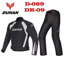 DUHAN-veste de course pour moto   Pantalon dhiver chaud et coupe-vent, oxford, combinaison de veste déquitation anti-lutte