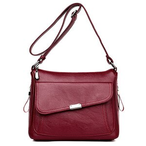 Women PU Leather Luxury handbags Women Shoulder bags Designer Messenger bags for Girls crossbody bag Sac a main Tote top-handle