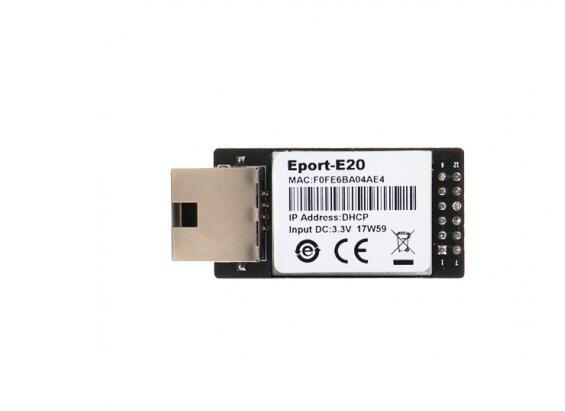 Módulo de Red Serie a Ethernet servidor MCU TTL/RJ45 a TTL HF-E20