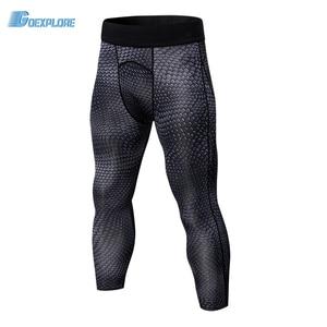 Goexplore Fitness Pants Men 7 minutes Jogger Pant Bodybuilding Gyms Running Pants New Sweat Elastic Compression Sport Trousers