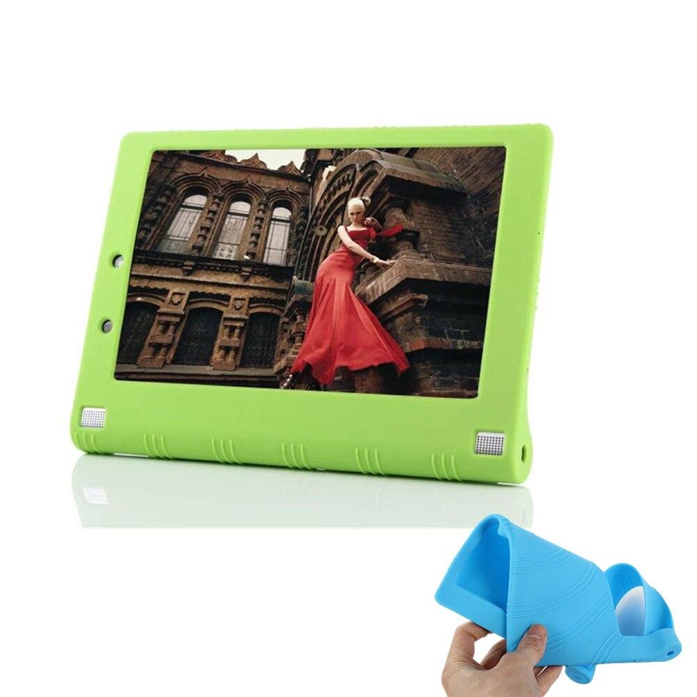 Силиконовый чехол для lenovo Yoga Tablet 3 8,0 ''850F 850 M 850L резиновый чехол для lenovo Yoga Tab 2 830F 830L 830I Funda Case