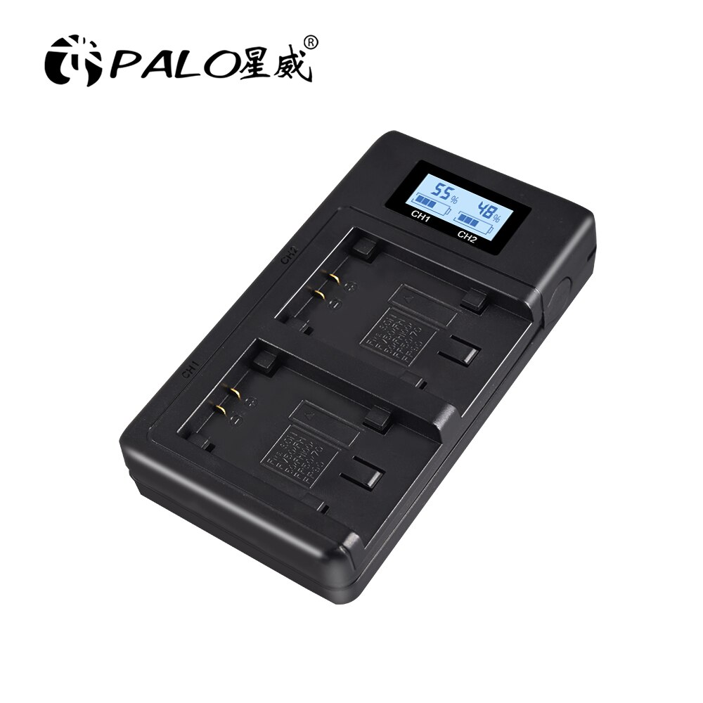 Cargador inteligente USB Dual LCD Sony NPFV100 NP-FV100 batería de carga rápida para NP FH50 FH100 FP50 FP90 FV50 FH40 FV100 batería de cámara