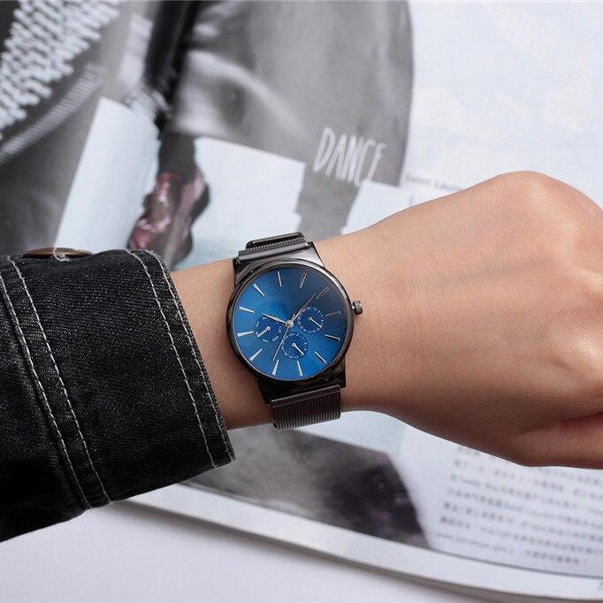 Relojes militares TIANNBU a la moda para hombre, reloj de pulsera de acero inoxidable para hombre, reloj de cuarzo de marca de lujo, oro Saat, dropshipping A5