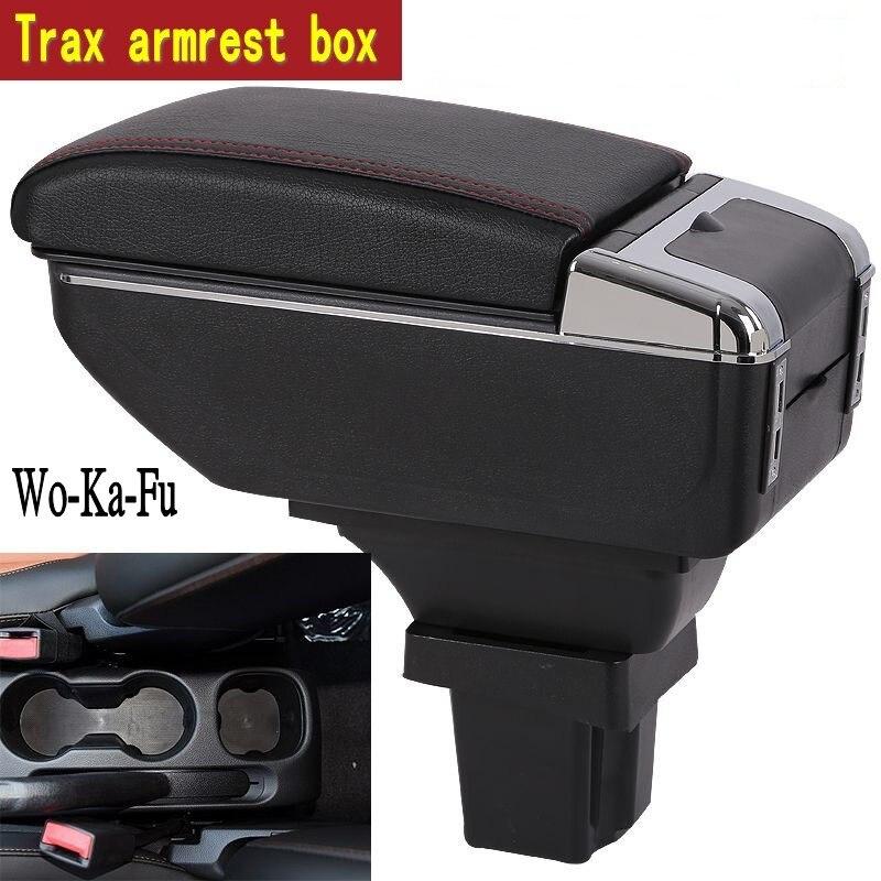 Para caja de reposabrazos Trax productos de compartimento de almacenamiento central decoración interior accesorios de consola central de almacenamiento