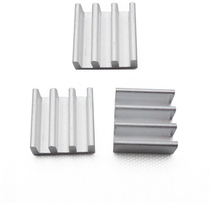 10PCS 11x11x5mm Aluminum Heat Sink For Memory Chip IC NEW