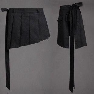2020 nueva moda vestidos de personalidad falda Casual busto falda 7 Culottes de talla grande peluquero club nocturno Pantalones