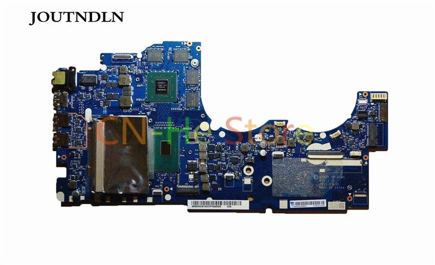 JOUTNDLN para Lenovo Y700-15ISK placa base de computadora portátil BY511 NM-A541 DDR4 5B20K28172 W/i5-6300HQ CPU y GTX960M 100%