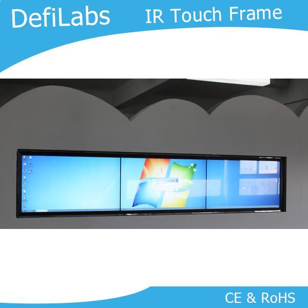 """DefiLabs el mejor precio de 10 puntos táctiles reales 82 """"IR Panel de marco de pantalla táctil"""