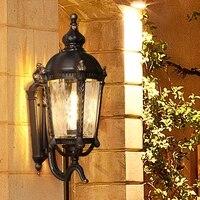 Outdoor Waterproof Vintage Wall Lamp Villa Retro Garden Exterior Wall Outdoor Sconce Wall Lights Balcony Patio Led Lamps