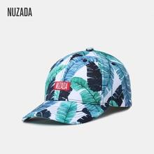 NUZADA Original 3D Printing Snapback Women Men Couple Neutral Baseball Cap High Quality Cotton Polyester Blend Hat Bone Caps