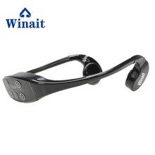 China goedkope winait waterdichte bot condution mp3 spelen 8GB zwemmen sport mp3 headset oortelefoon gratis verzending