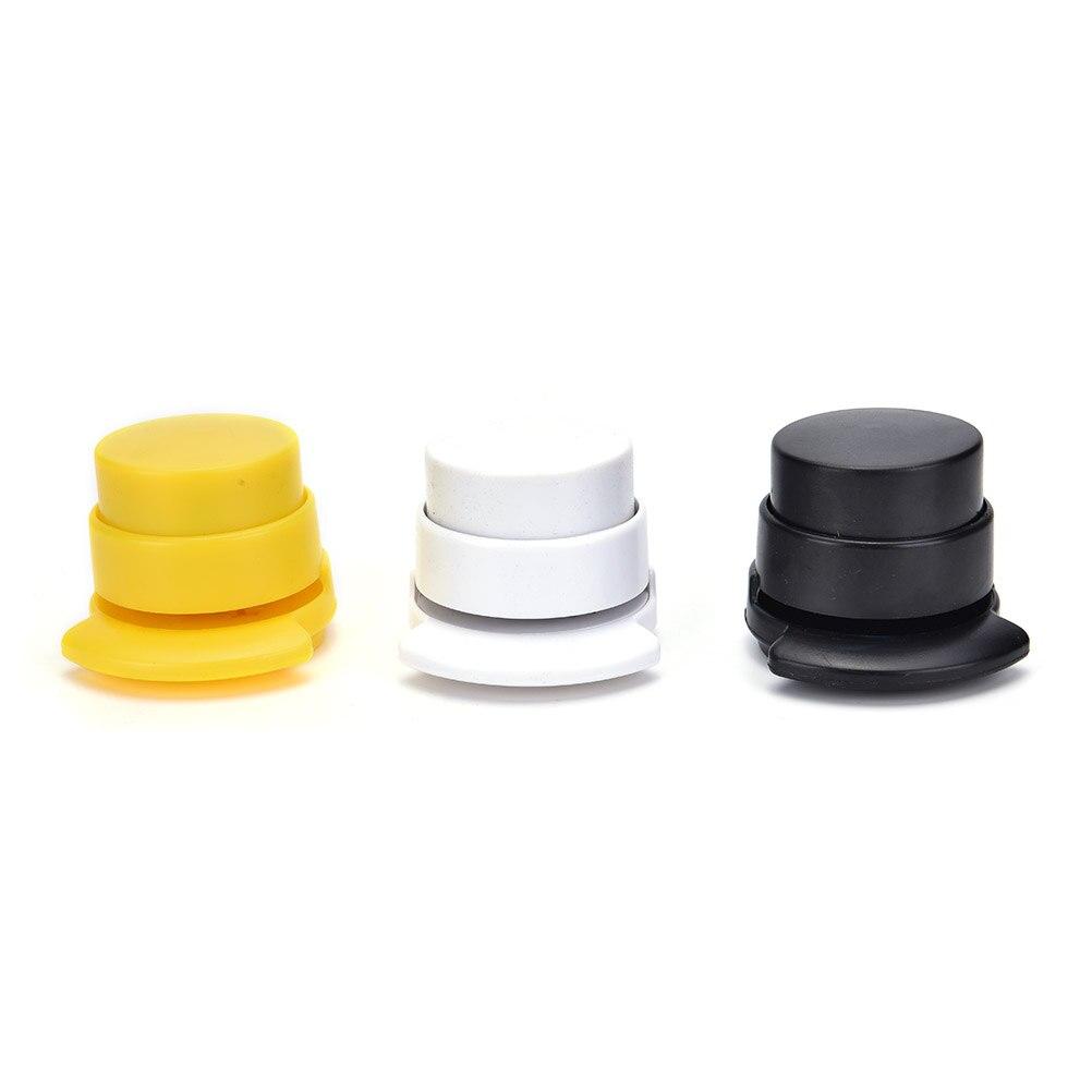Peerless 1 pcs candy Office Home Staple Free Stapleless Stapler Paper Binding Binder Paperclip Mini Binder Stationary