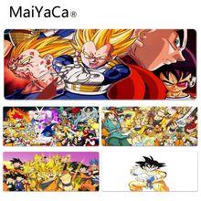 MaiYaCa Menino Pad Presente Dragon Ball Z Batalha dos Deuses bonito Anime Lockedge Mouse Mat Tamanho para 30x90 cm 40x90 cm Borracha tapetes de rato