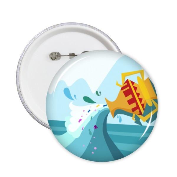 Mochila de tela de constelación del zodiaco de Acuario, insignias decorativas, pegatinas de dibujos animados Kawaii, ropa, parches, broches decorativos de regalo para niños
