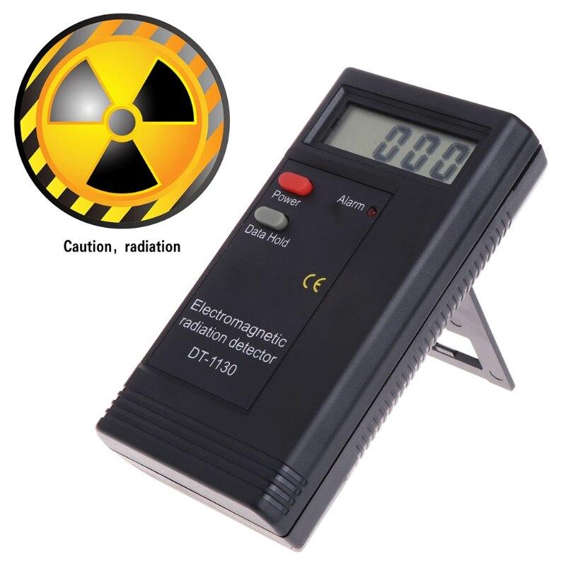 Detector de radiación electromagnética LCD Digital EMF medidor dosímetro probador DT1130 -v