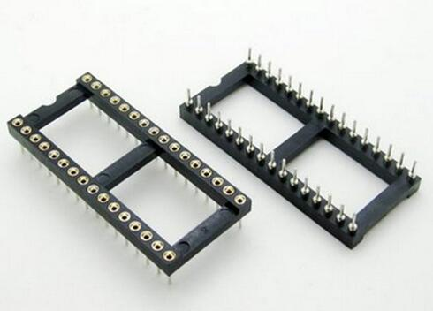 5 pcs 32 Pino Redondo DIP IC Soquete Adaptador 32Pin Conector Passo 2.54mm