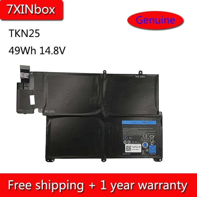 "7 XINbox 49Wh 14.8 V TKN25 0V0XTF Bateria Para Dell Inspiron 13z 5323 13.3 ""Vostro 3360 RU485 RU485 TRDF3 v0XTF Series Laptop"
