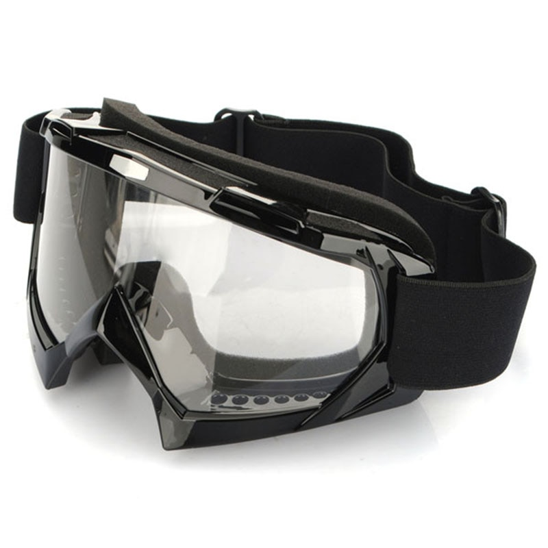 Super Motorcycle Bike Motorcycle glasses ATV Motocross Ski Snowboard Off-road Goggles FITS OVER GLASSES Eye Lens hot snowboard off road racing glasses eyewear ski snowmobile atv dh skate goggles single lens clears