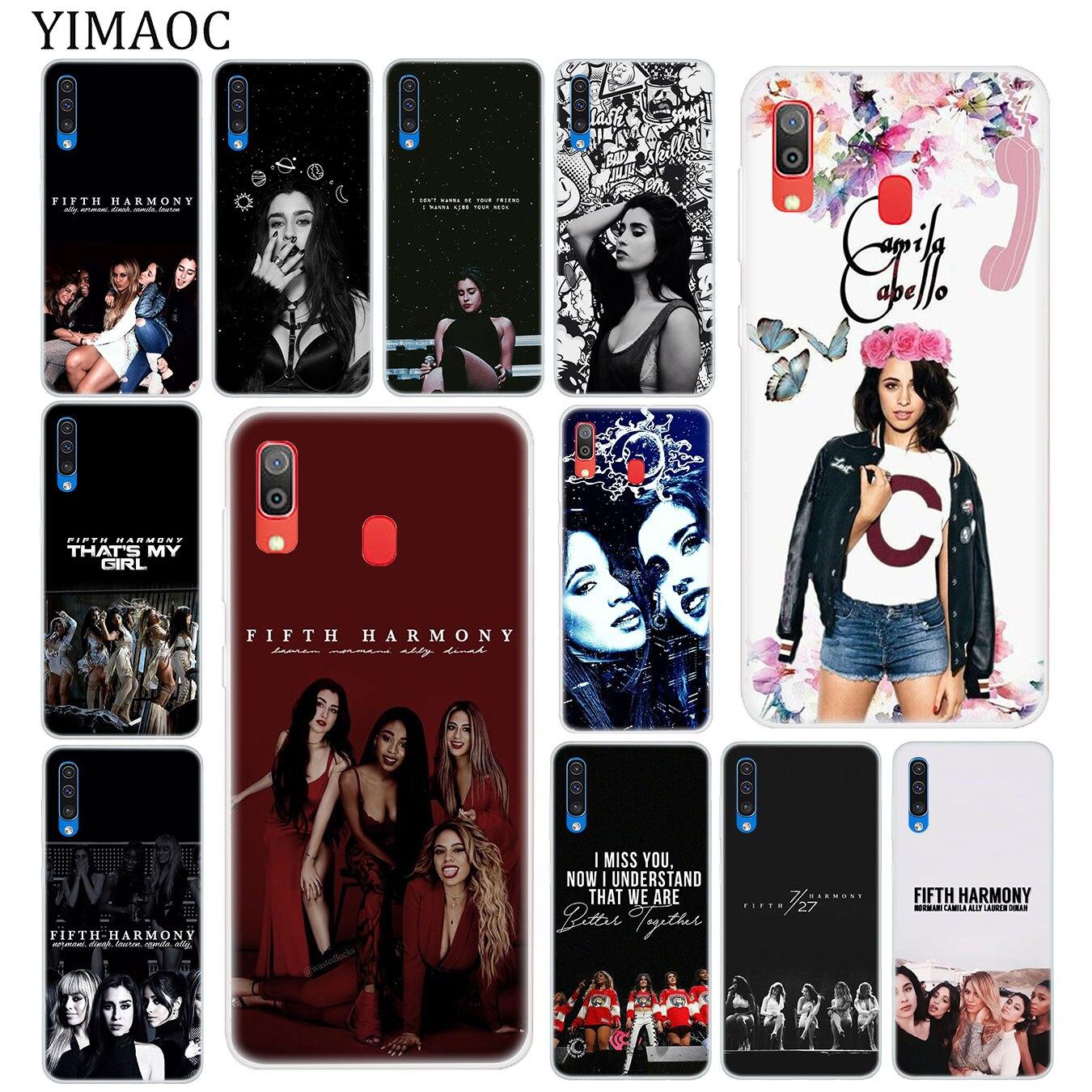 YIMAOC Camila Cabello Fifth Harmony Soft Silicone Case for Samsung Galaxy A70 A60 A50 A40 A30 A20 A10 M10 M20 M30 M40 Cover
