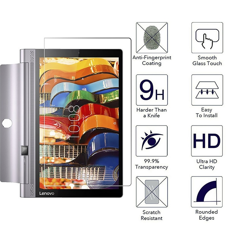 EKDME vidrio templado para Lenovo Tab 4 10 8 plus TB-X304L TB-X304F TB-X704L TB-X704F 3 710L 850F 850M 730M Tablet película protectora