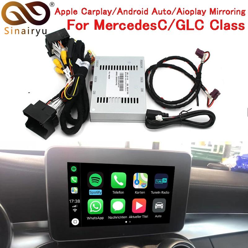 Sinairyu mercado OEM Apple Carplay solución de reequipamiento Mercedes NTG5 un GLA clase 2015-2017 inteligente Apple CarPlay de IOS airplay