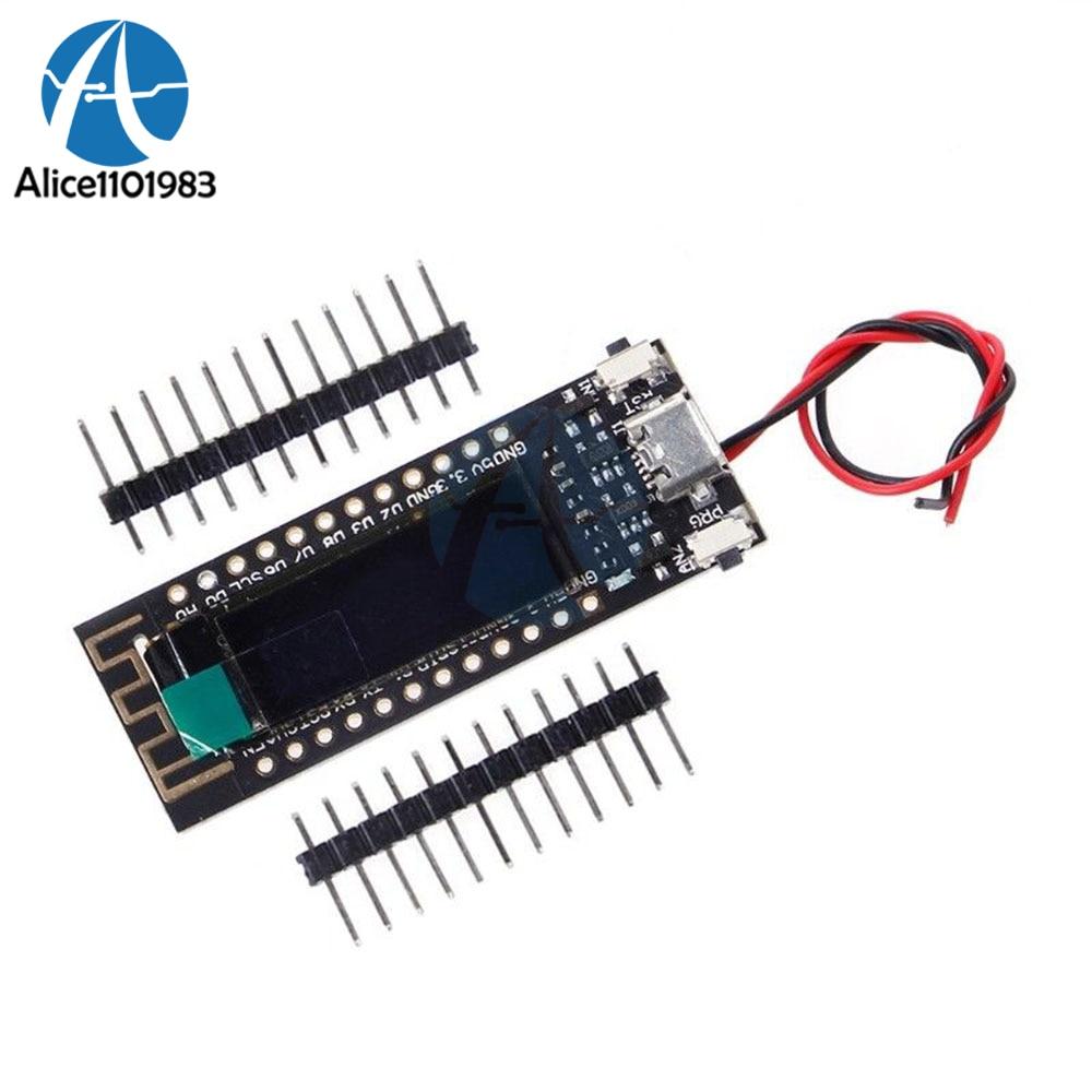 ESP8266 0,91 дюймов OLED CP2014 беспроводной модуль WIFI плата для Arduino NodeMcu IOT модуль разработки 32M 32Mb флэш-плата