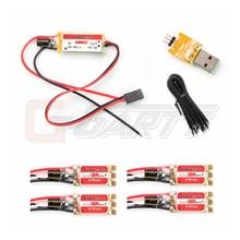 KINGKONG 12A BLHeli OPTO contrôleur de vitesse ESC + UBEC + modulateur + ESC fil étendu pour Multicopter