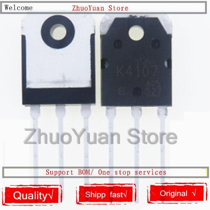 10 PCS/lot K4107 2SK4107 TO-3P 15A 500 V Original