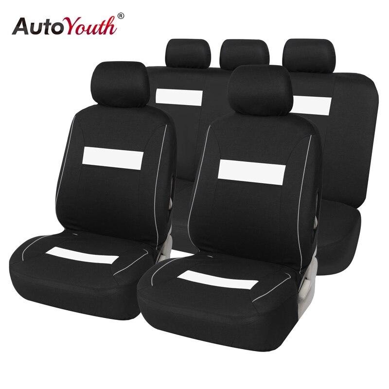 Cubiertas de asiento de coche AUTOYOUTH, Protector de asiento de coche, accesorios de Interior de coche para toyota corolla verso renault scenic 3