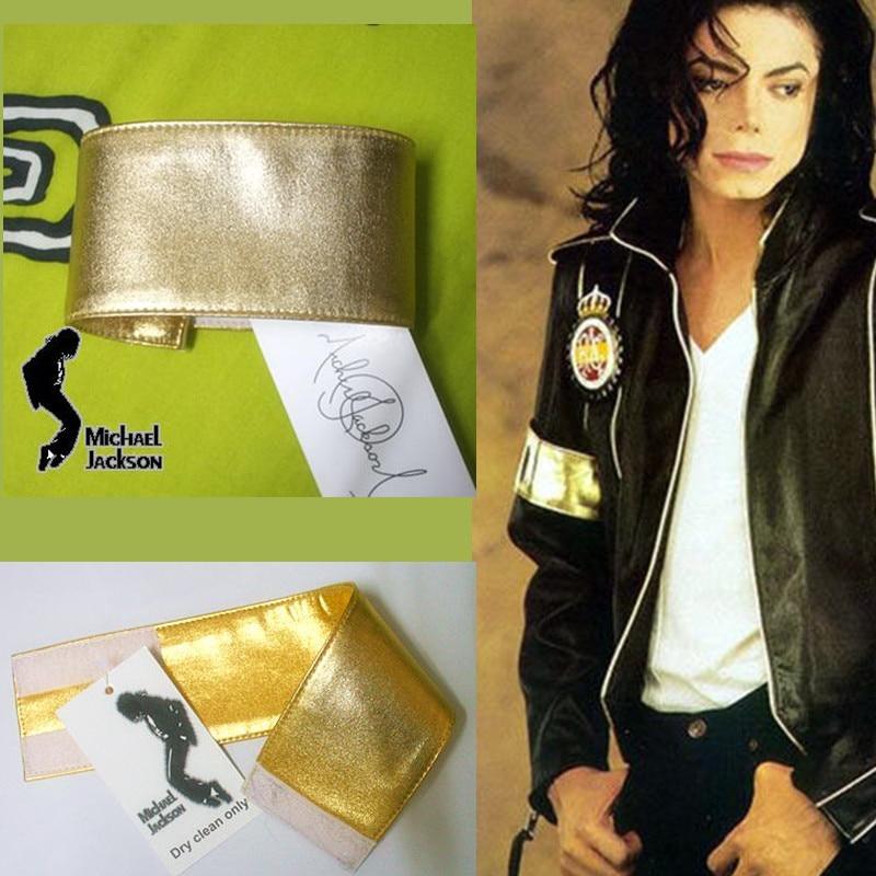 MJ Michael Jackson Classic Golden Armband For Preformance Collection