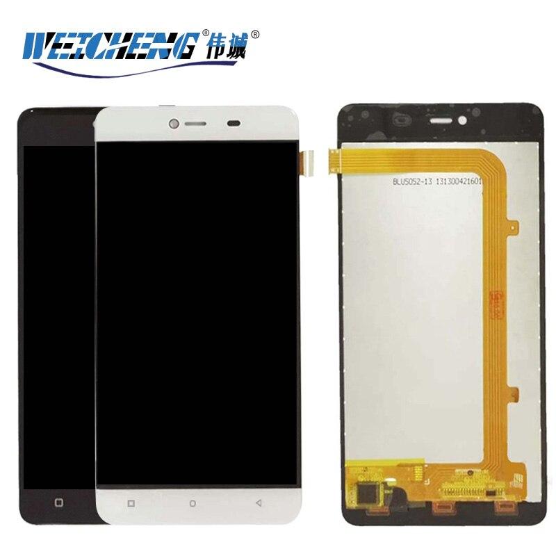 Weicheng para highscreen energia raiva display lcd + montagem da tela de toque para raiva energia lcd digitador sensor ferramentas gratuitas