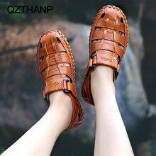 QZTHANP mode sandales été hommes jeunesse tendance chaussures décontractées hommes hommes chaussures adulte respirant de base de haute qualité Zapatos Hombre