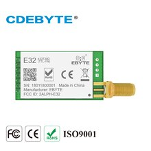 E32-433T30D Lora uzun menzilli UART SX1278 433mhz 1W SMA anten IoT uhf kablosuz alıcı verici alıcı modülü