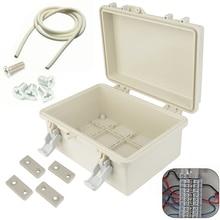 Vis Mayitr boîte de jonction électronique   ABS étanche, boîte de clôture scellée, coque plastique, câble de Terminal extérieur 240*170*110mm 1 pièce