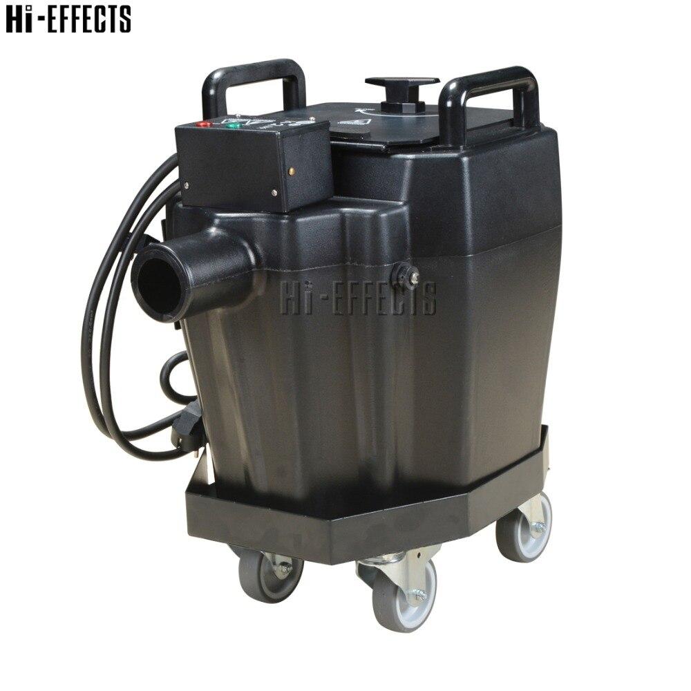 آلة ضباب للثلج الجاف ، 3500 واط ، دخان منخفض مع خرطوم 3 متر وفوهة دخان ، تأثير ضباب أرضي منخفض