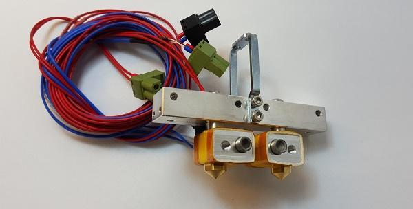Funssor Flashforge Extruder Assembly to Creator Pro Bar Mount Assembly for Flashforge Creator Pro 3D printer