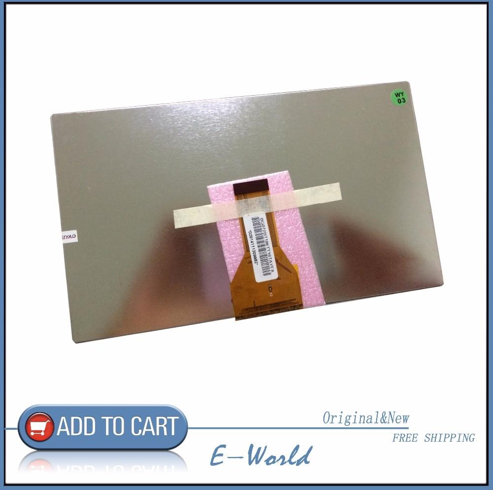 Оригинальный 7-дюймовый 30pin ЖК-экран WY070ML186BO18B WY070ML186B018B WY070ML186 WY070ML для планшетных ПК Бесплатная доставка