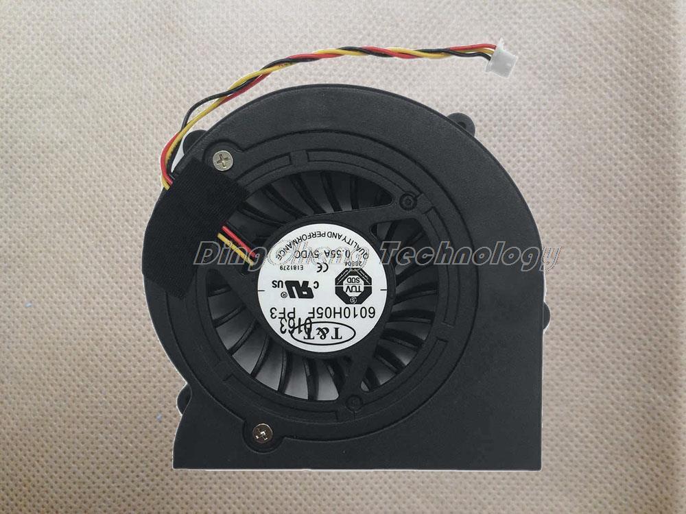 Holytime para msi ex610 gx610 m670 original e novo ventilador de refrigeração da cpu 6010h05f pf3 radiadores do portátil ventilador de refrigeração 100% totalmente teste