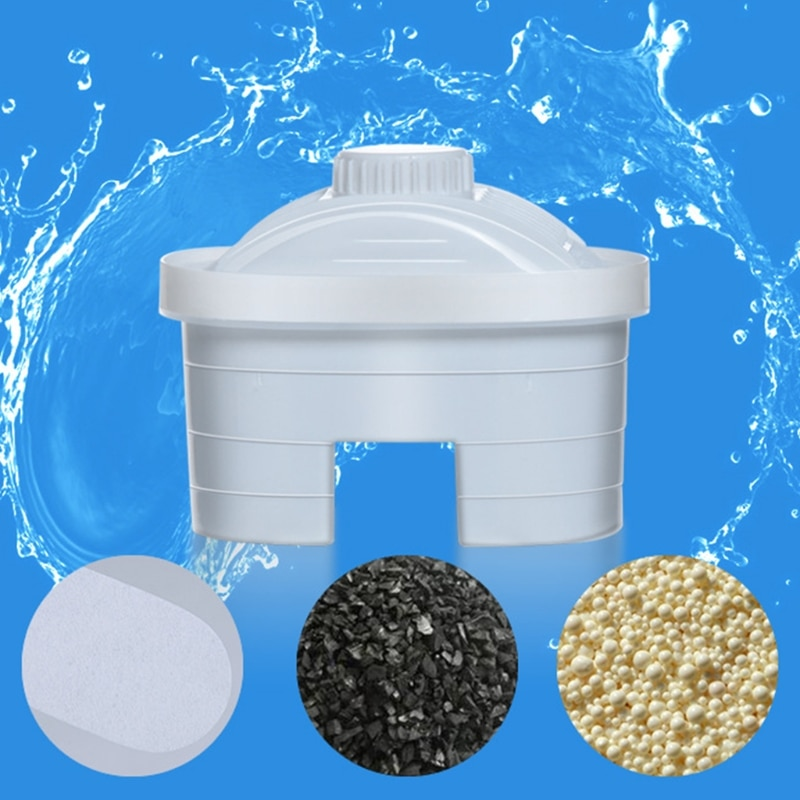 Free_on 1 шт. очиститель воды здоровый фильтр кувшин Замена заправок картриджи