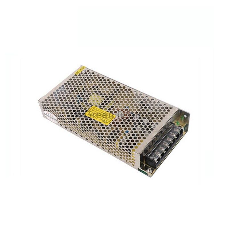 10X superventas 12 V 15A de alta potencia led de conmutación controlador de alimentación flexible para tira de luz led express envío gratis