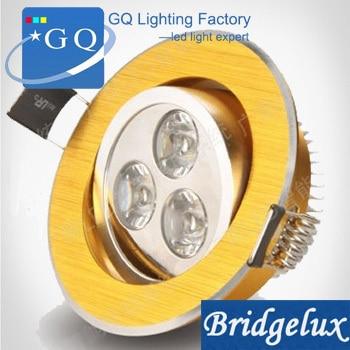 200 Uds. 1W 3W 5W 7W 9W 12W 15W 18W 21W led luz de techo 550LM envío gratis lámpara empotrada hacia abajo Blanco/cálido whi