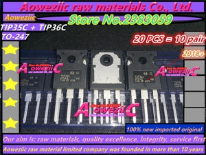 Aoweziic 2018 + 100% новая импортная оригинальная трубка TIP35C TIP36C TIP35 TIP36 TO-247, мощная трубка для усилителя транзистора
