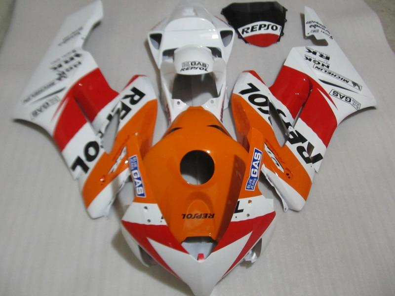 Custom Injection mold bodyworks for 2004 2005 CBR1000RR fairing parts cbr 1000 rr 04 05 motorcycle fairing kits
