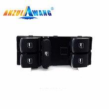 Interruptor de la ventanilla principal de cromo 5ND959857 5K4959857/5ND959855 para Golf MK5 MK6 Tiguan Touran Jetta Passat