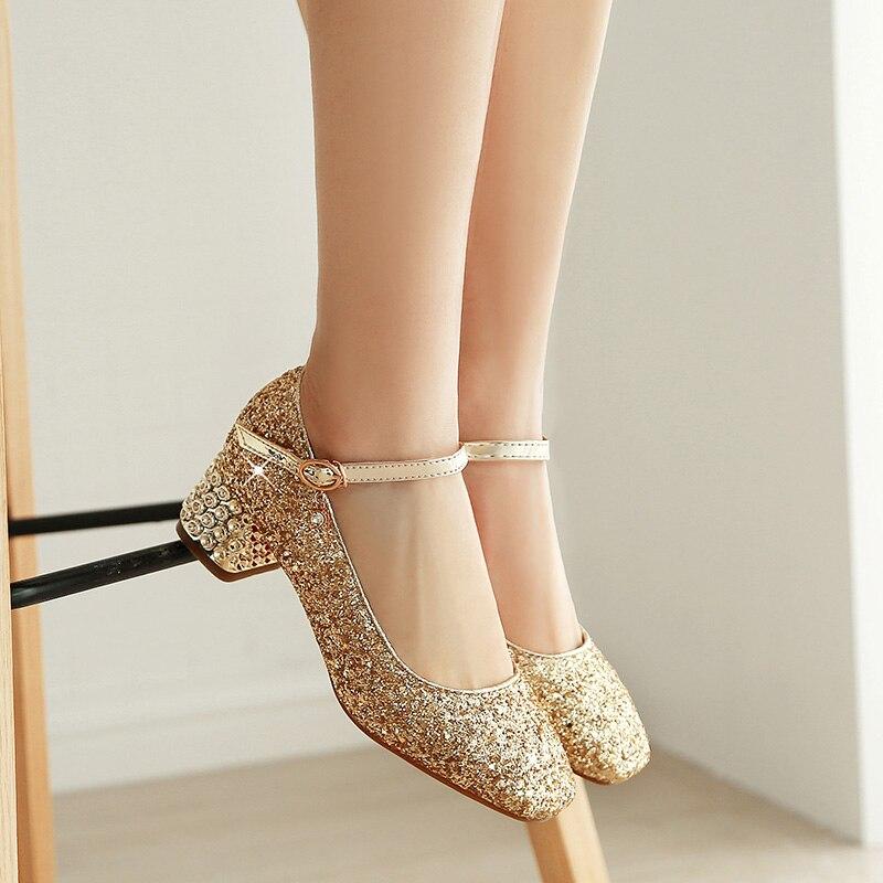 2020 الأزياء! حذاء باليليت للبنات الصغيرات ، حذاء كريستال ، فضي ، كعب عالي ، للحفلات