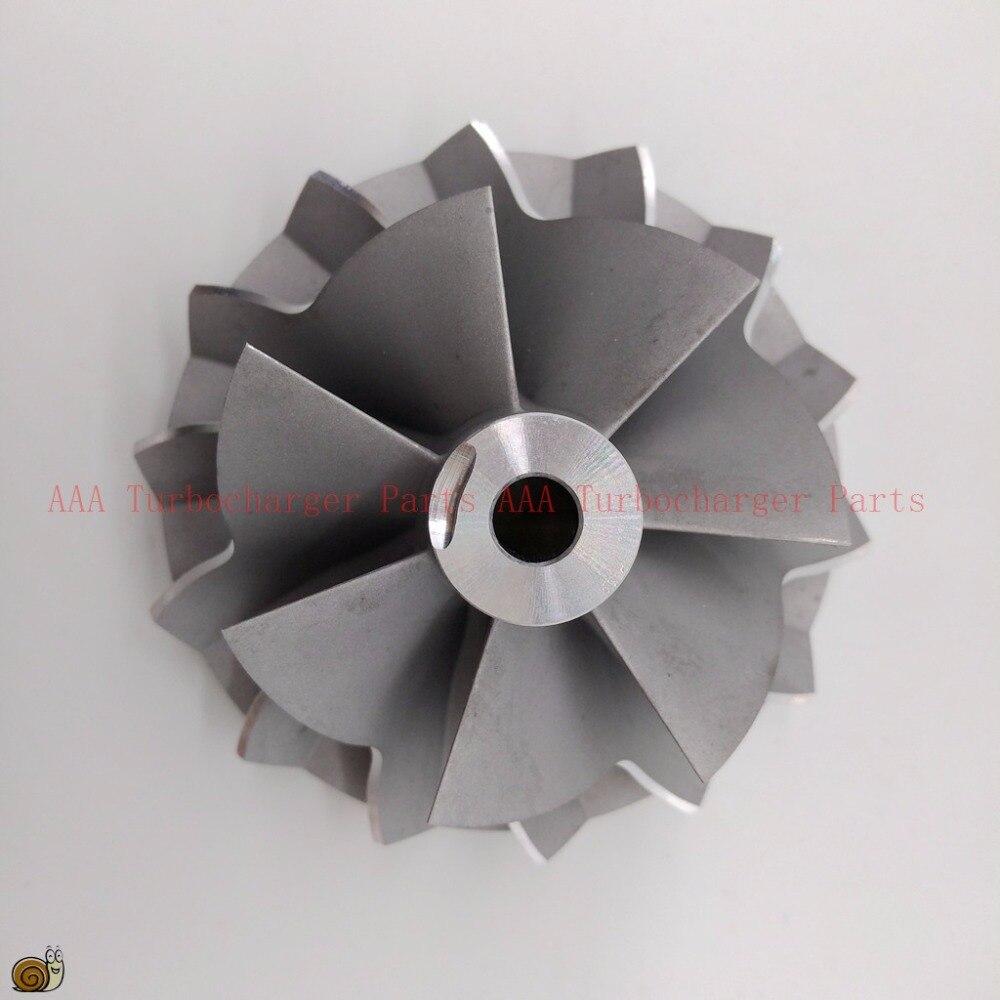 S400 Turbo Compressor Roda 63.3x92mm, 7/7 lâminas peças de Turbo/reconstruir kits fornecedor de peças de turbo Turbocharger AAA Turbocharger