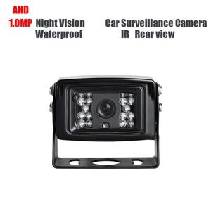 AHD 1.0MP Waterproof Car Rear View Camera Truck Backup Camera Lorry Vans School Bus Reverse Camera IR Night Vision DC12V