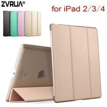 Für iPad 2/3/4, ZVRUA YiPPee Farbe PU Smart Magnet wachen schlaf Für apple iPad2 iPad3 iPad4