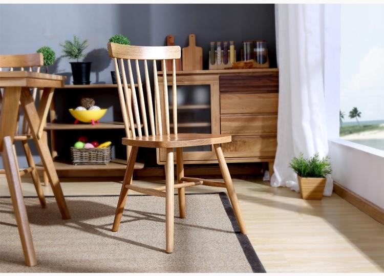 Современные Дизайн классическая деревянная отдыха обеденный стул Гостиная
